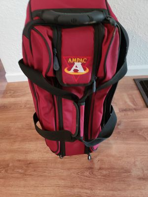 3 Ball Bowling ball bag. AMPAC for Sale in Salem, MO
