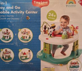 BRAND NEW/UNOPENED Tiny Love 4-in-1 Play and Go Mobile Activity Center for Sale in Auburn,  MA