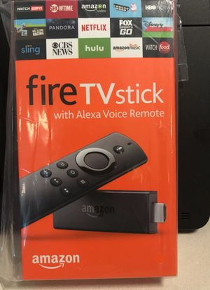 Fire Tv Stick with Alexa Voice Remote for Sale in North Saint Paul, MN