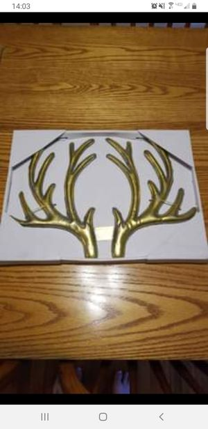 Golden antlers for Sale in Cromwell, CT