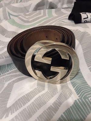 Mens gucci belt for Sale in Dallas, TX