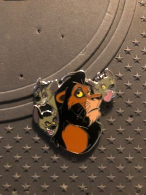 Lion king scar and hyena Disney pin for Sale in Long Beach, CA