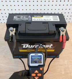 Car Battery Group Size 48/H6 Duralast Gold (2020)- $70 With Core Exchange/ Bateria Para Carro Tamaño 48/H6 Duralast Gold (2020) for Sale in South Gate,  CA