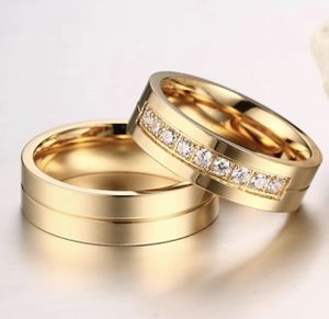 GOLD OVER STAINLESS RING SET w/CZ for Sale in Orrington, ME