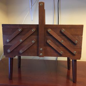 Folding Sewing Box for Sale in Port Orchard, WA