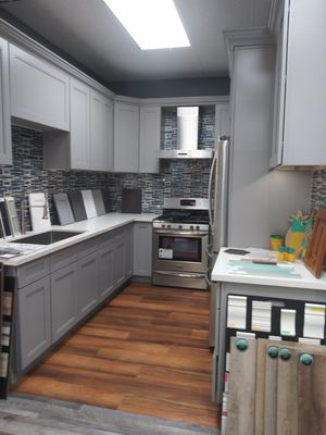 Kitchen cabinets and floors floors for Sale in Norwalk, CA