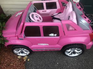 Pink Cadillac power wheels for Sale in Brockton, MA