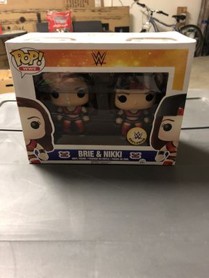 Brie and Nikki Bella Funko pop WWE exclusive for Sale in Lytle Creek, CA