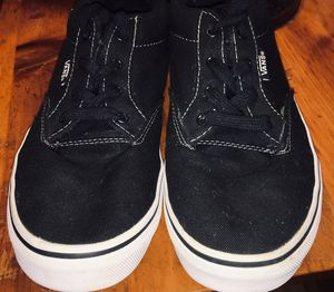 Vans Black size 6Y. Also fits ladies 7.5 for Sale in Elmira, NY