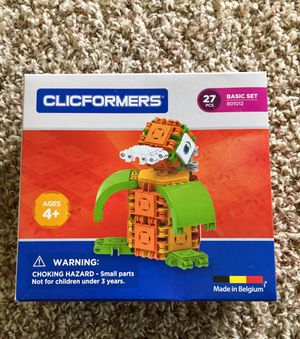 Clicformers toy. New sealed in original package for Sale in Alexandria, KY