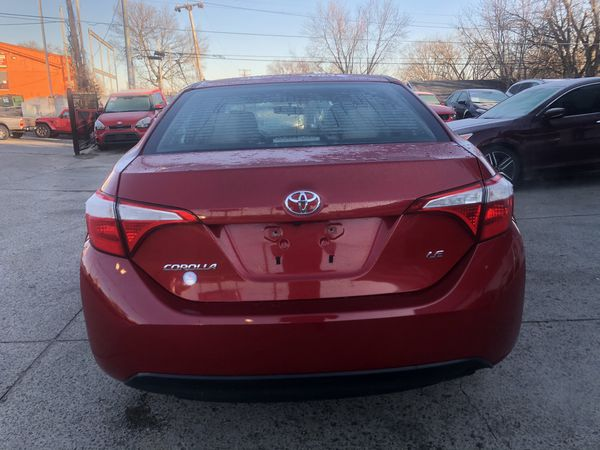 2016 Toyota Corolla $1900 Down Payment