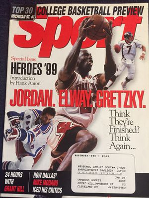 90s Jordan magazine for Sale in Parma, OH