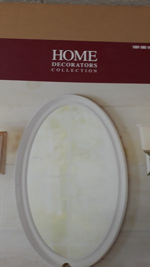 Brand new Home Decorators Collection 21inches Oval Framed Mirror for Sale in Miami, FL
