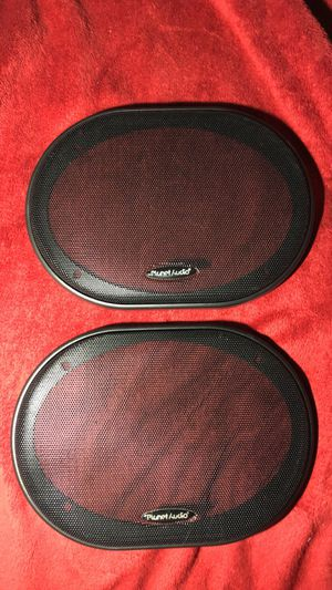 6x9 planet audio speaker grilles for Sale in Everett, MA