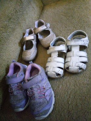 Toddler girl shoes for Sale in Mission Viejo, CA