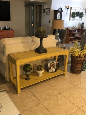 Sofa table for Sale in Tempe, AZ
