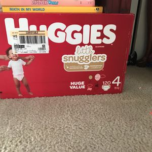 Huggies Pamper Size 4 for Sale in Silver Spring, MD