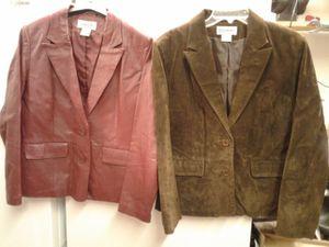 Leather blazers for Sale in Kalkaska, MI