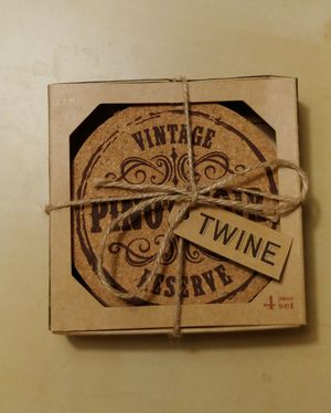 Brand new Twine wine coasters for Sale in Renton, WA