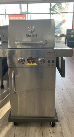 Brand New Stainless Steel Char-Broil BBQ Grill! 8YME for Sale in Georgetown, TX