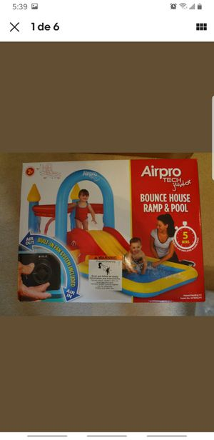 AirPro Tech Junior Bounce House Ramp and Pool Serial for Sale in Nashville, TN