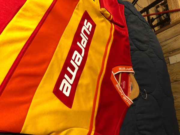Supreme Warmup Hockey Jersey FW18 Collection