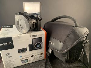 Sony A5100 mirrorless camera with lens for Sale in South Gate, CA