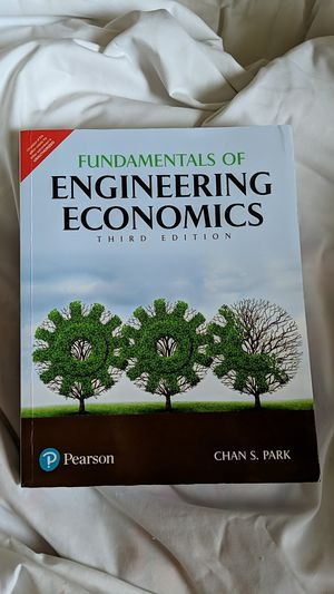Fundamentals of Engineering Economics 3rd Edition Chan S. Park for Sale in Lexington, KY