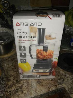 New 3 cup food processor for Sale in Alexandria, VA