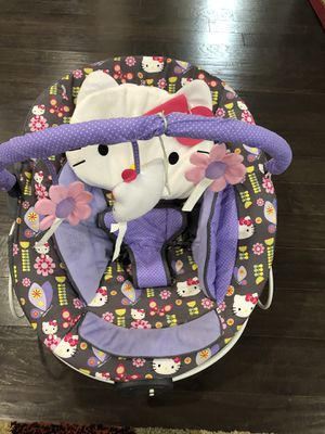 Hello kitty baby bouncer for Sale in Morrisville, NC