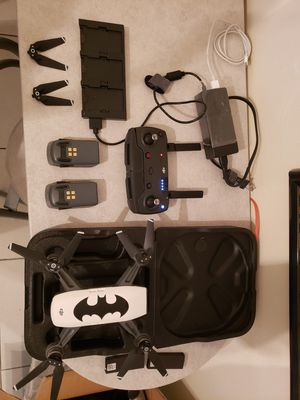 DRONE DJI Spark Fly More Combo with controller, 2 batteries & landing gear! for Sale in SUNNY ISL BCH, FL
