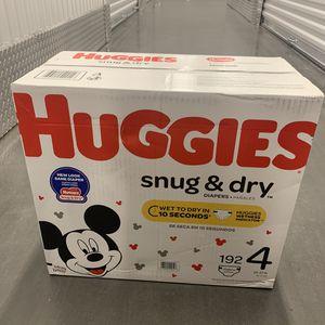 Huggies Snug & Dry 192 Pack for Sale in Atlanta, GA
