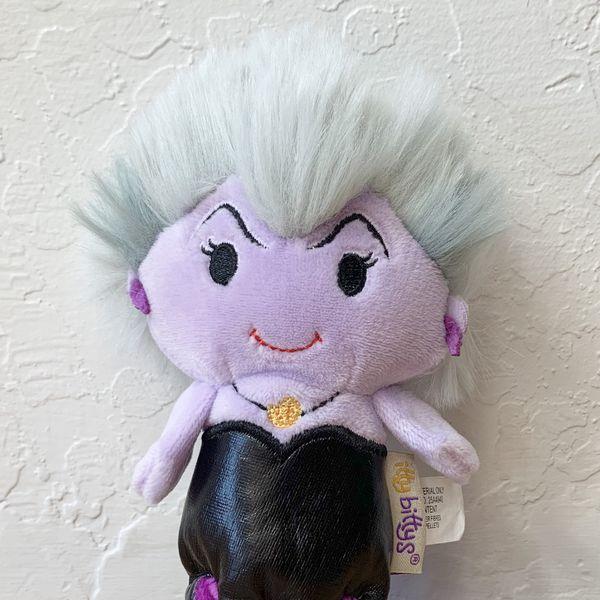 Hallmark Disney's Little Mermaid Sea Witch Ursula Itty Bittys Plush Toy Collectable