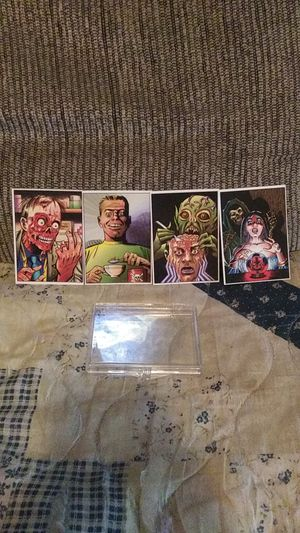Rare 2001 Shock Stories complete card set for Sale in Hedgesville, WV