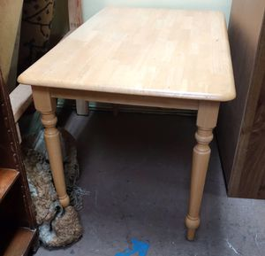 """#100395 Birch Country Style Kitchen Table 47.5"""" Wide x 30"""" Deep x 29"""" Tall for Sale in Oakland, CA"""