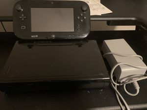 Nintendo Wii U Black 32gb Console - with GamePad for Sale in Chino Hills, CA
