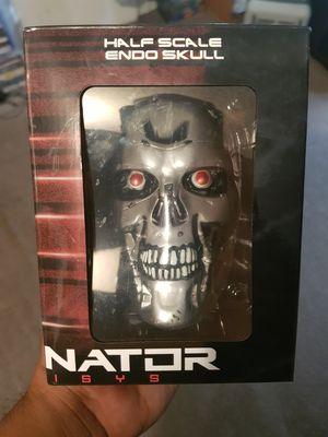 Terminator genisys half scale endo skull for Sale in Oklahoma City, OK