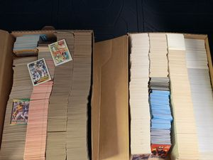 Approximately 8,000 Baseball Cards from 1986-1990 for Sale in Fullerton, CA