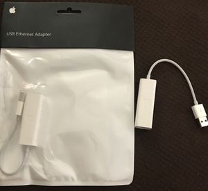 (6) Apple USB Ethernet Adapter - Model: MC704LL/A for Sale in Springfield, VA