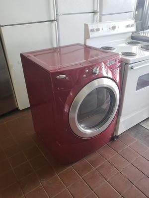Red whirlpool duet gas dryer hablo español for Sale in Hayward, CA