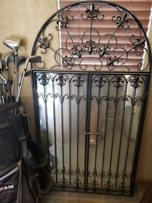 Wrought iron mirror window for Sale in Winchester, CA