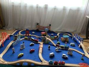 Thomas and friends wooden railways for Sale in Seattle, WA
