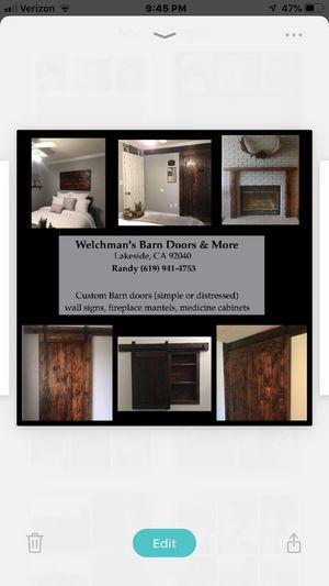 Welchman's Barn Doors & More for Sale in Lakeside, CA