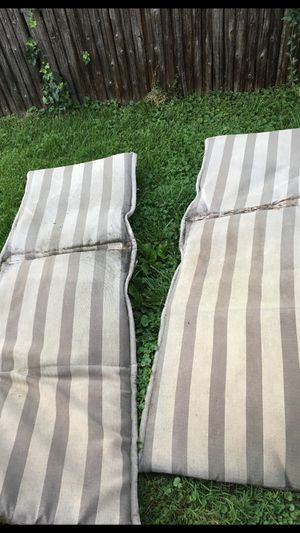 Two lounge chair cushions for Sale in Hinsdale, IL
