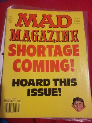 Vintage Mad magazing for Sale in Nipomo, CA