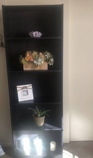 Two dark brown bookshelves for Sale in Bethlehem, PA