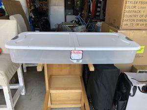 Underbed Storage Box Container for Sale in Irvine, CA