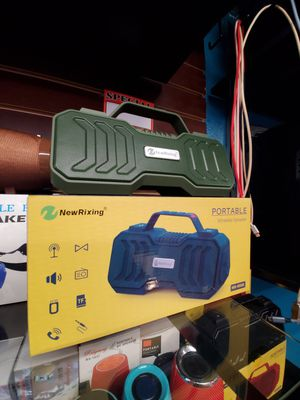 SPEAKERS BLUETOOTH RECHARGEABLE NEW for Sale in Baldwin Park, CA