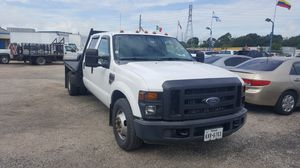 2008 Ford F450 4dr flat bed $3k down! for Sale in Pasadena, TX