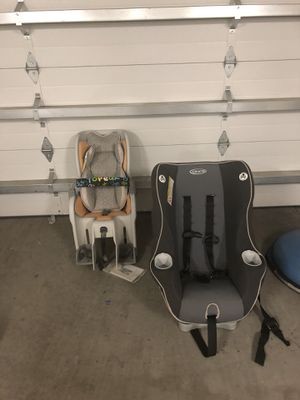 Car Seat/Baby Bike Seat Set for Sale in B.C., MX